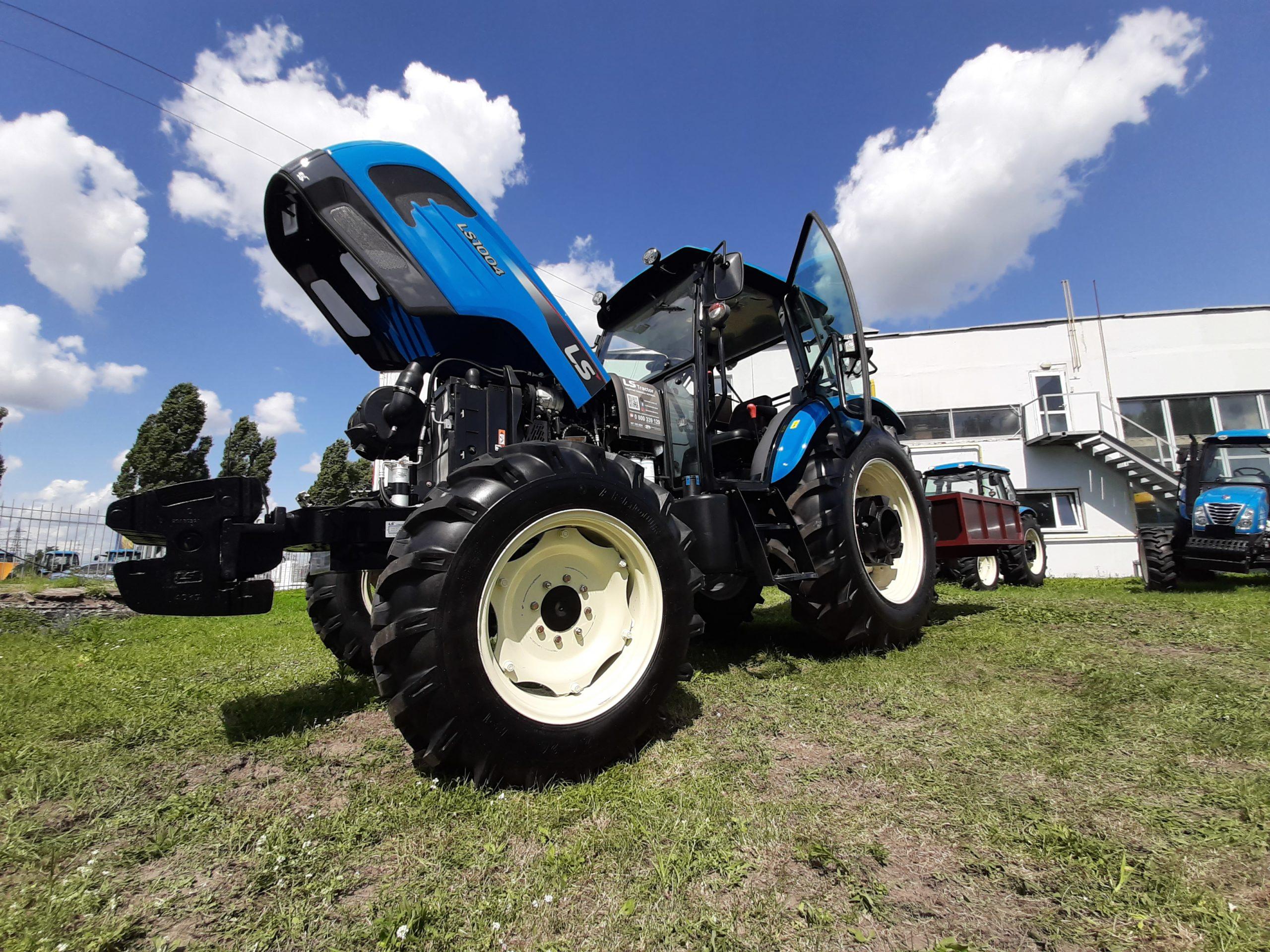 трактор ls1004_1