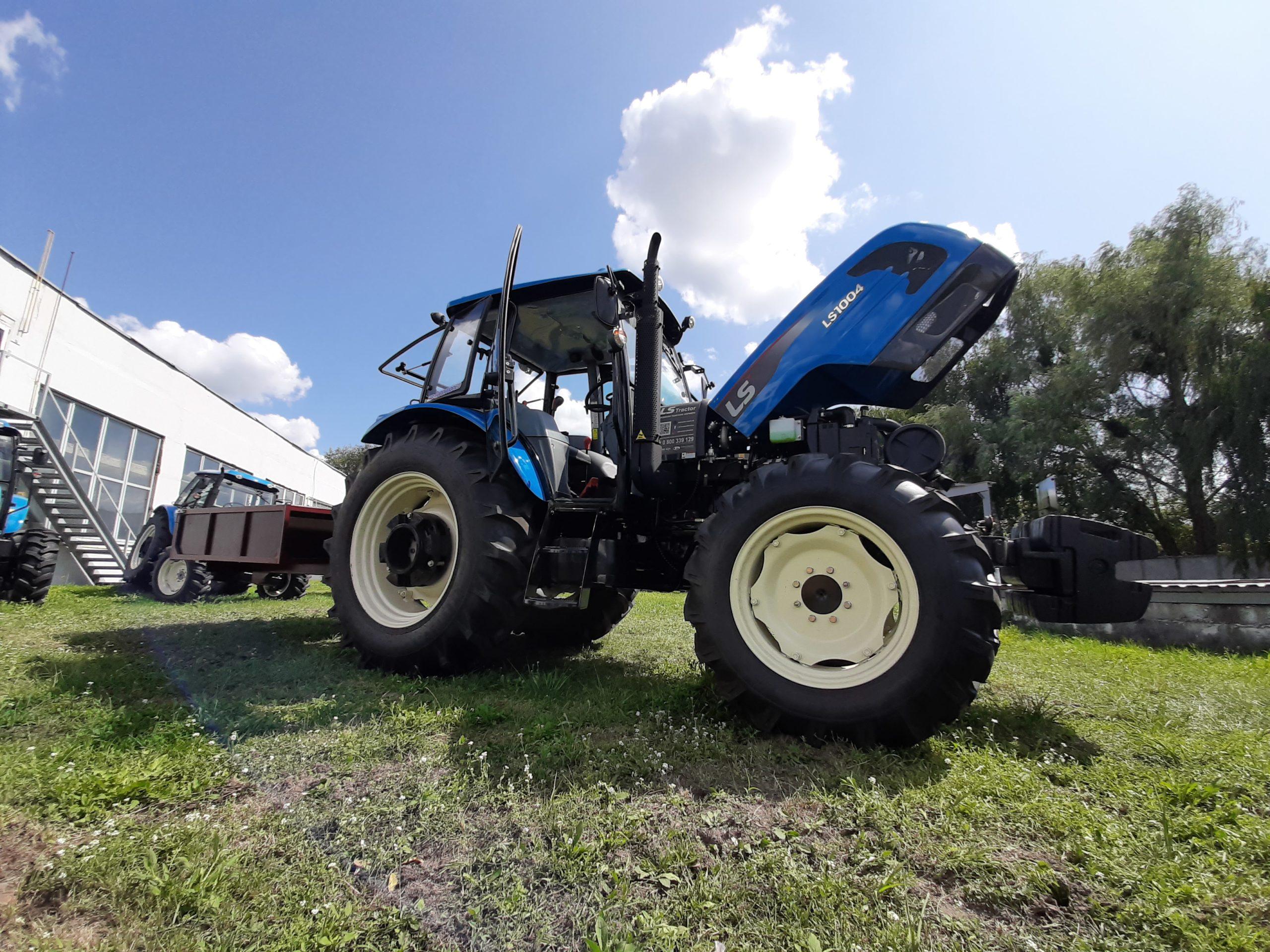 трактор ls1004_2