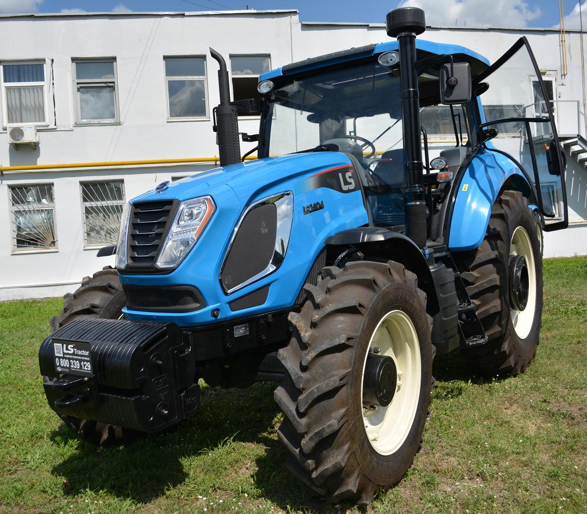 трактор LS H140