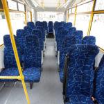 Пасажирські сидіння шкільного автобусу ЗАЗ
