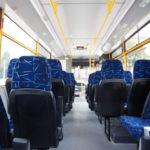 Салон шкільного автобусу ЗАЗ