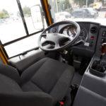 Крісло водія шкільного автобусу ЗАЗ