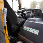 Місце водія шкільного автобусу ЗАЗ