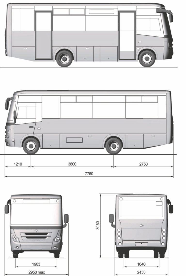 Схема автобусу