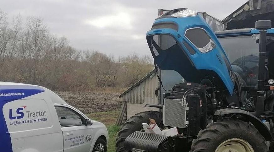 Трактори LS Tractor завойовують популярність серед аграріїв України
