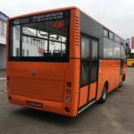 Міський автобус ЗАЗ А08 задня маска