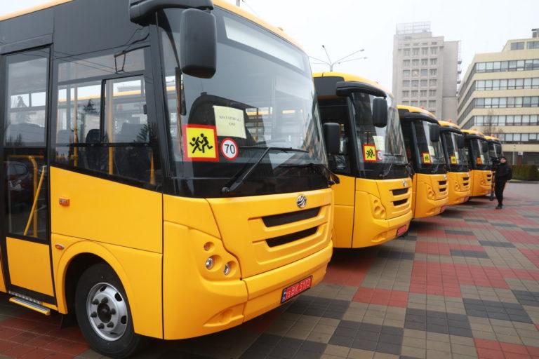 Виконано договір поставки 30 шкільних автобусів ZAZ A08 для Запорізької ОДА.