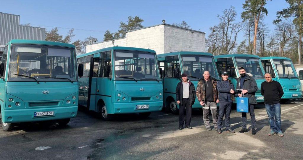 Вручення 5 автобусів ЗАЗ А07