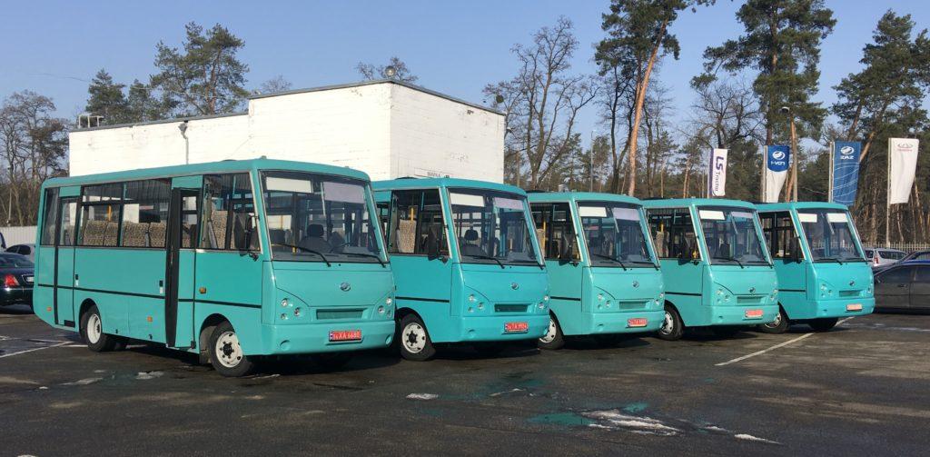 Остання партія автобусів ЗАЗ А07